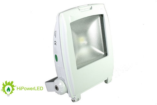Aktion: LED Design-Scheinwerfer weiss 10 W (ca. 50W) 230 V warmweiss