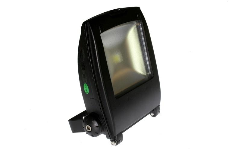 design led strahler scheinwerfer geh use schwarz 10 watt 220volt warm weiss. Black Bedroom Furniture Sets. Home Design Ideas