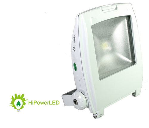 Aktion: LED Design-Scheinwerfer weiss 40W (ca. 200W) warmweiss