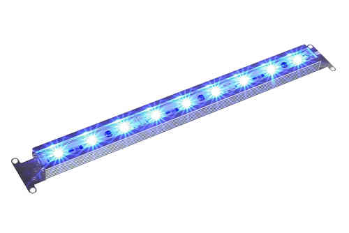 LED Pflanzenlampe / LED Grow Lampe wasserdicht 9Watt blau 34cm