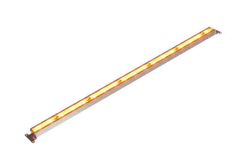 LED Pflanzenlampe / Grow Light 18Watt orange 64cm