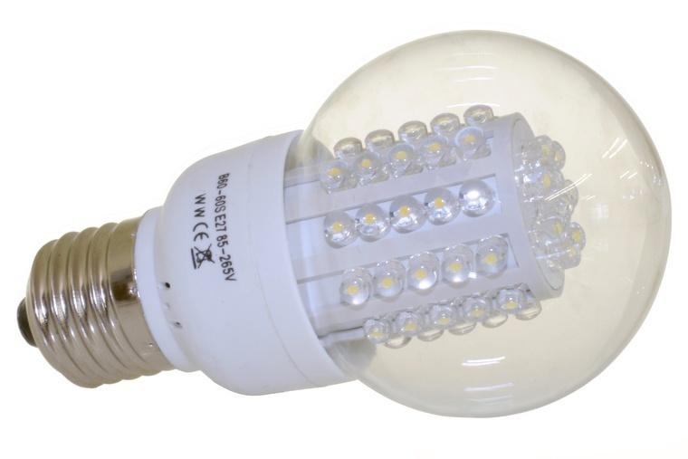 led birne e27 3 w 230 v klar warmweiss 60 led led leuchtmittel. Black Bedroom Furniture Sets. Home Design Ideas