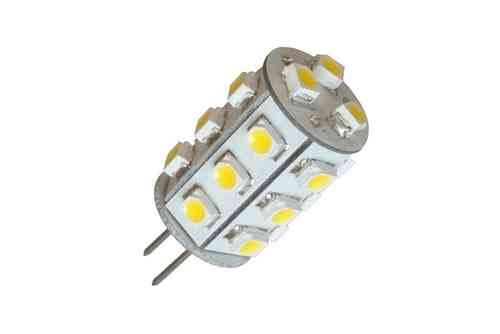 LED Stiftsockellampe G4 1.2W (ca. 10W) 21 LED warmweiss