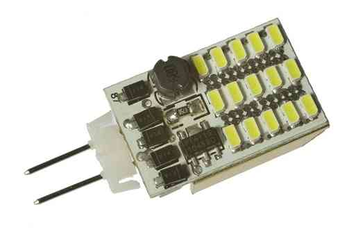LED Stiftsockellampe G4 1.8W (ca. 15W) 15 LED warmweiss