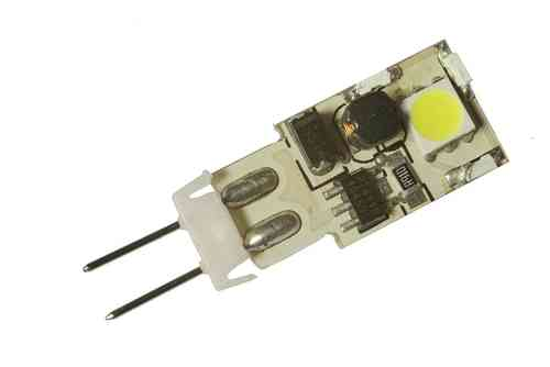 Ampoule LED G4 1W (ca. 10W) 2 LED blanc froid
