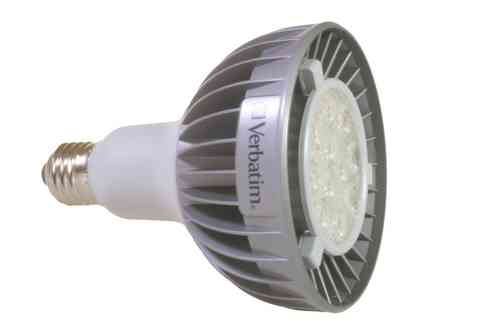 Aktion: LED Spot E27 18W (ca. 100W) 230V warmweiss PAR38 (Verbatim-Nr. 52017)