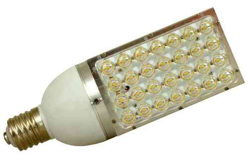 LED Strassenlampe E40 30W (ca. 200W) 2500lm warmweiss