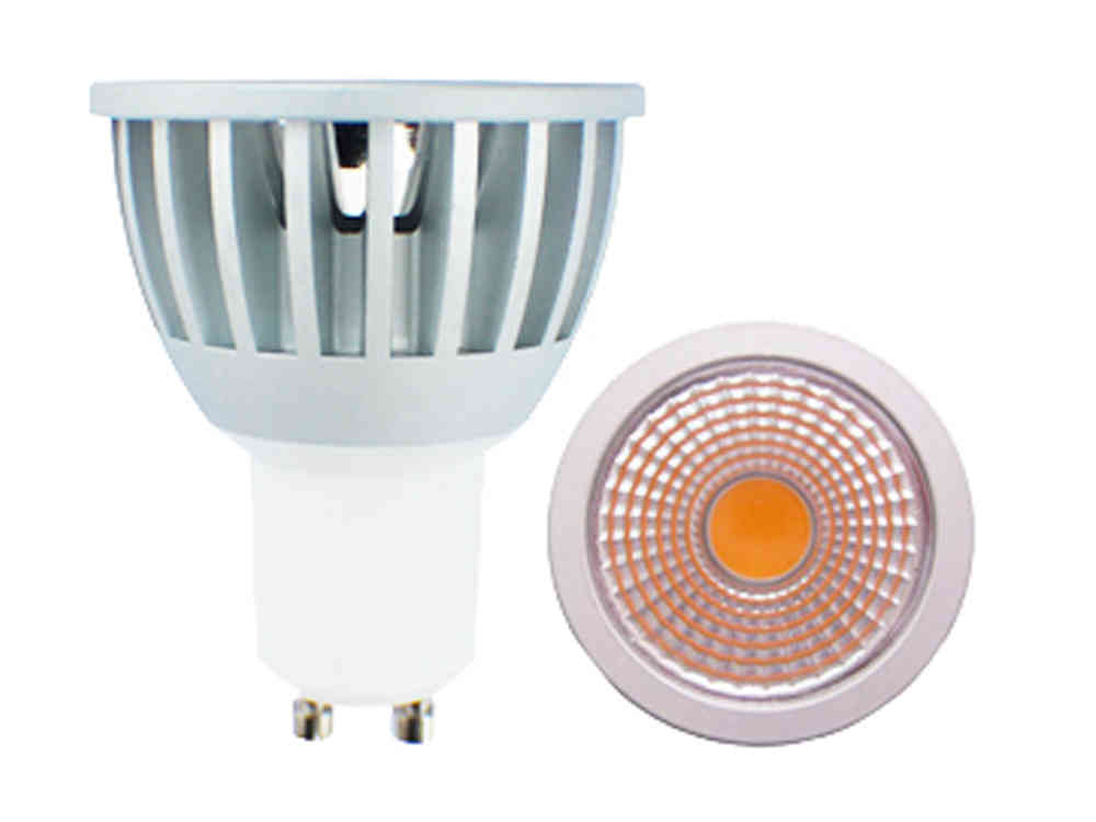 Aktion: LED Spot GU10 7W 620lm 60° tageslichtweiss dimmbar - LED Lampen