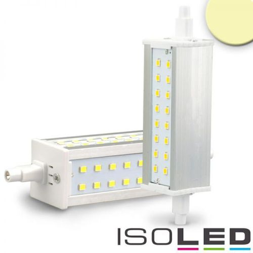Aktion: LED Stab R7s ISOLED SLIM 118mm 8W (ca. 60W) 720lm 48SMD warmweiss