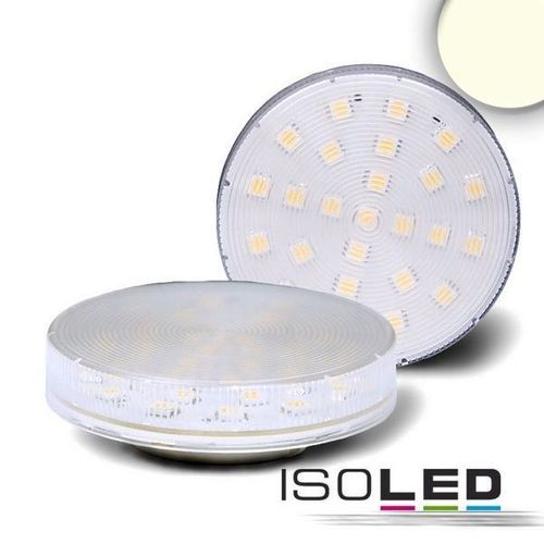 Aktion: LED Lampe GX53 ISOLED 3.5W (ca. 25W) 320lm klar 25SMD neutralweiss