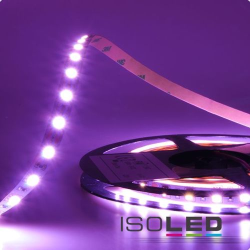 LED Flexband ISOLED SIL 14.4W/m 24V 63W IP20 RGB 1/2/5m