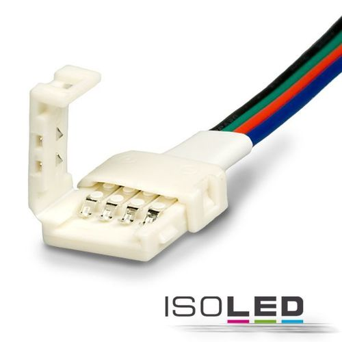 LED Flexband Clip-Anschlusskabel ISOLED 4-polig 10mm