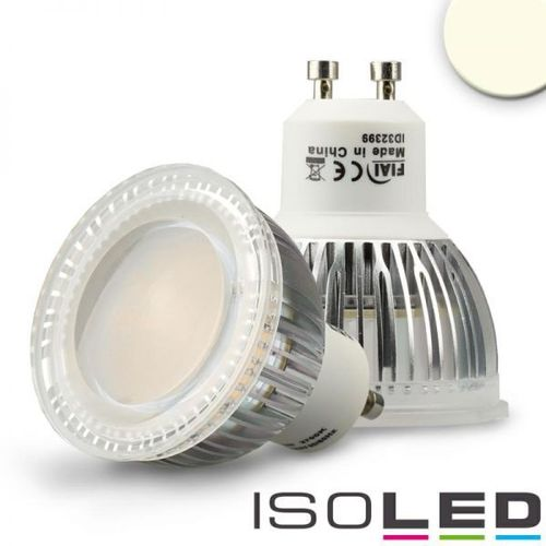 LED Spot GU10 ISOLED 6W (ca. 50W) 550lm 120° neutralweiss