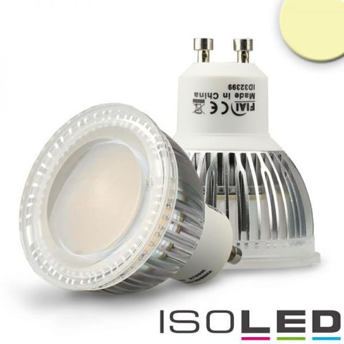 LED Spot GU10 ISOLED 6W (ca. 50W) 600lm 120° warmweiss