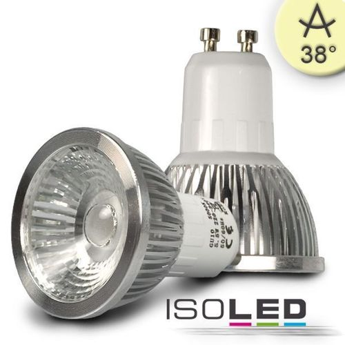 LED Spot GU10 ISOLED 5.5W (ca. 35W) COB 310lm 38° warmweiss dimmbar