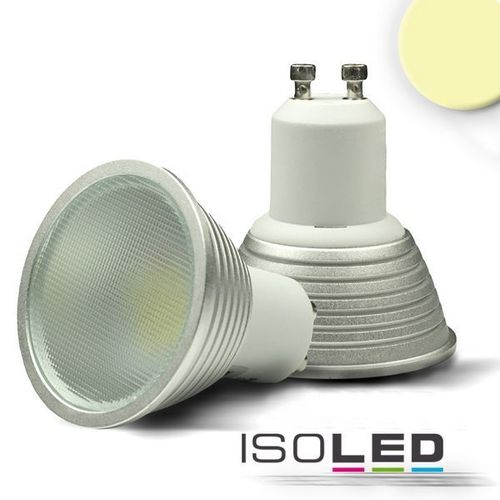 LED Spot GU10 ISOLED 5W (ca. 35W) 340lm 140° warmweiss dimmbar