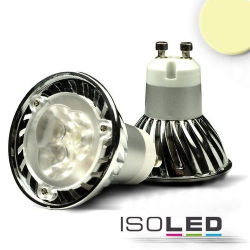 LED Spot GU10 ISOLED 3W (ca. 25W) 210lm 45° warmweiss