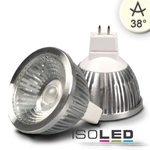 LED Spot MR16 ISOLED 5.5W (ca. 30W) COB 320lm 38° neutralweiss dimmbar