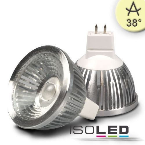 LED Spot MR16 ISOLED 5.5W (ca. 30W) COB 310lm 38° warmweiss dimmbar