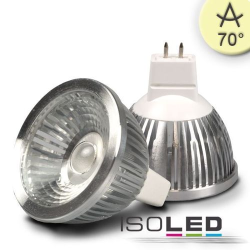 LED Spot MR16 ISOLED 5.5W (ca. 30W) COB 310lm 70° warmweiss dimmbar