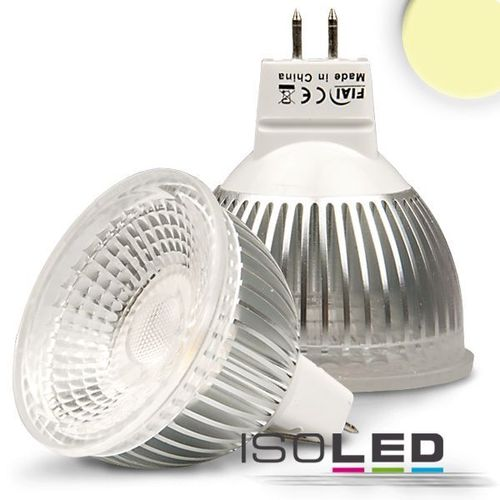 LED Spot MR16 ISOLED 6W (ca. 35W) Glas-COB 410lm 70° warmweiss dimmbar
