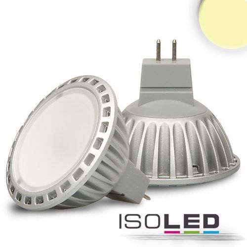 LED Spot MR16 ISOLED 5W (ca. 25W) 200lm 120° diffuse warmweiss