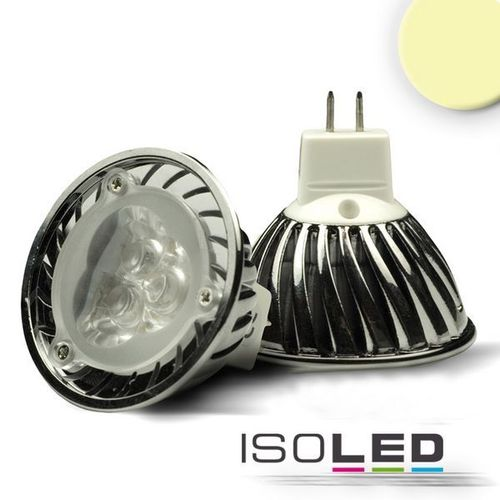 LED Spot MR16 ISOLED 3x1W (ca. 25W) 210lm 45° warmweiss