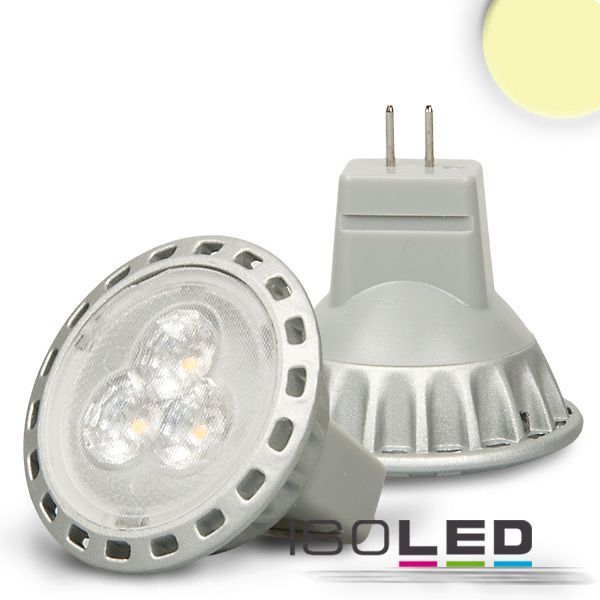 led spot mr11 isoled 2 5w 180lm 30 warmweiss led lampen. Black Bedroom Furniture Sets. Home Design Ideas