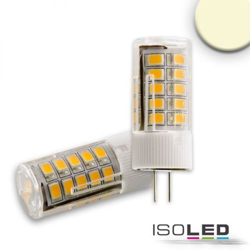 LED Stiftsockellampe G4 ISOLED 3.5W (ca. 30W) 33SMD 312lm 270° warmweiss