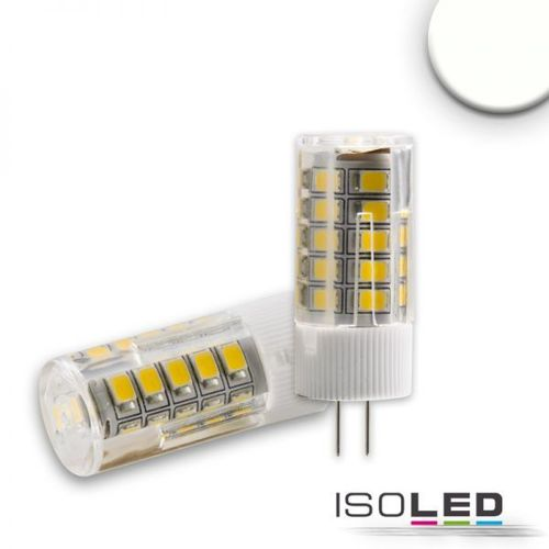 LED Stiftsockellampe G4 ISOLED 3.5W (ca. 30W) 33SMD 321lm 270° neutralweiss