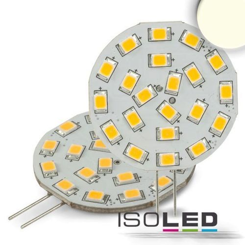 LED Stiftsockellampe G4 ISOLED 3W (ca. 35W) 21SMD 320lm 120° neutralweiss