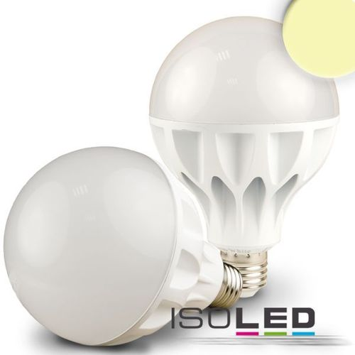 LED Globe E27 ISOLED 19W (ca. 100W) 1200lm warmweiss matt