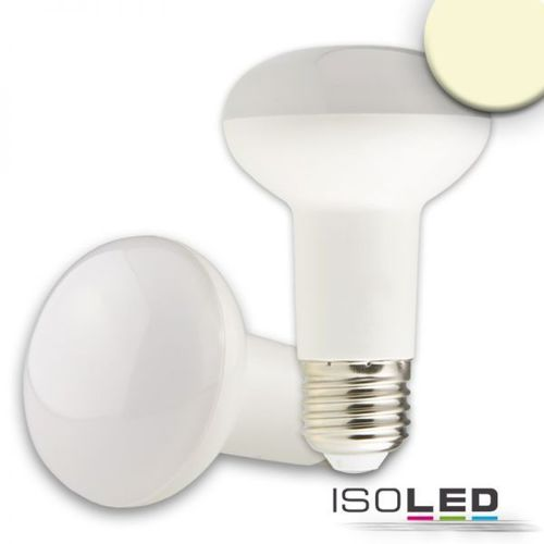 Spot LED E27 ISOLED 7W (ca. 40W) 500lm blanc chaud mat R63