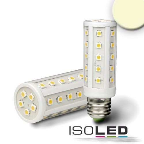LED Corn Light E27 ISOLED 6.5W (ca. 40W) 500lm 35SMD warmweiss