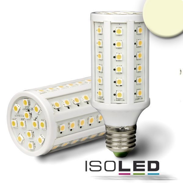 led corn light e27 isoled 9w 800lm 60smd warmweiss dimmbar. Black Bedroom Furniture Sets. Home Design Ideas