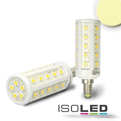 LED Corn Light E14 ISOLED 6.5W (ca. 40W) 500lm 35SMD warmweiss