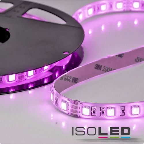 LED Flexband ISOLED HEQ 14.4W/m 24V 70W IP66 RGB 5m