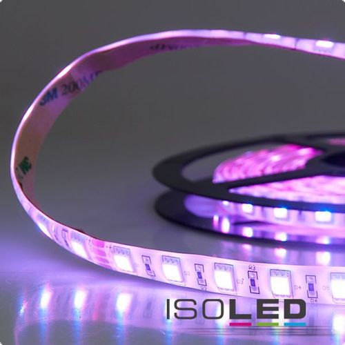 LED Flexband ISOLED SIL 14.4W/m 24V 62W IP66 RGB 1/2/5m