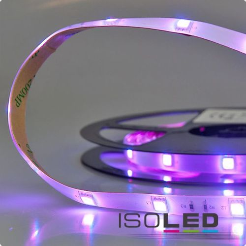 LED Flexband ISOLED SIL 7.2W/m 12V 25W IP66 RGB 1/2/5m