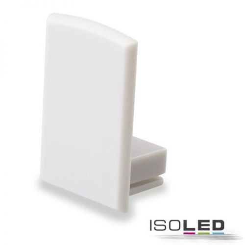 Endkappe PVC grauweiss für Profil ISOLED ECO 2