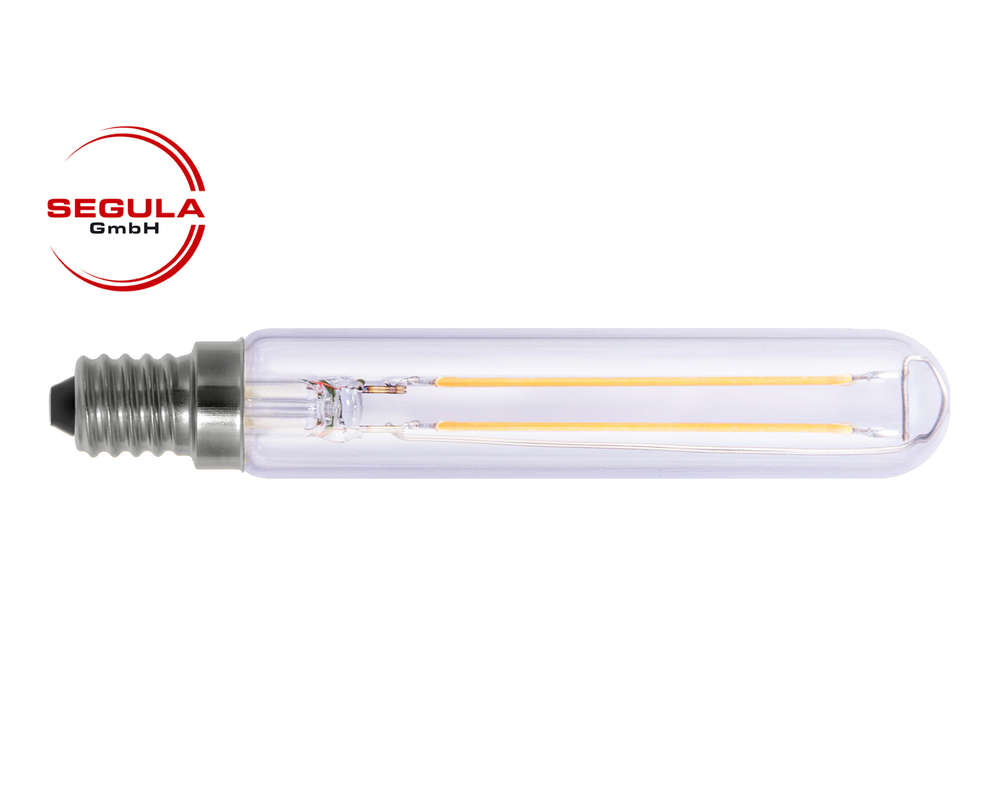 Led filament lampe tube segula e14 27w 250lm 2600k klar dimmbar led filament lampe tube segula e14 27w ca 25w 250lm 2600k klar parisarafo Image collections