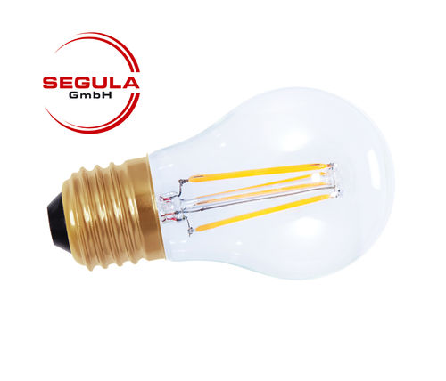 Filament LED Segula 50211 E27 3.5W (ca. 20W) 200lm 2200K clair dimmable