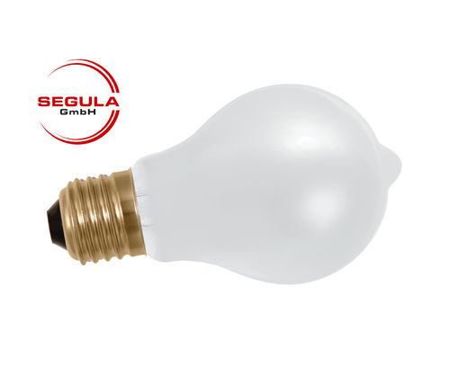 Aktion: LED Filament Birne Segula E27 6W (ca. 40W) 470lm 2200K matt dimmbar