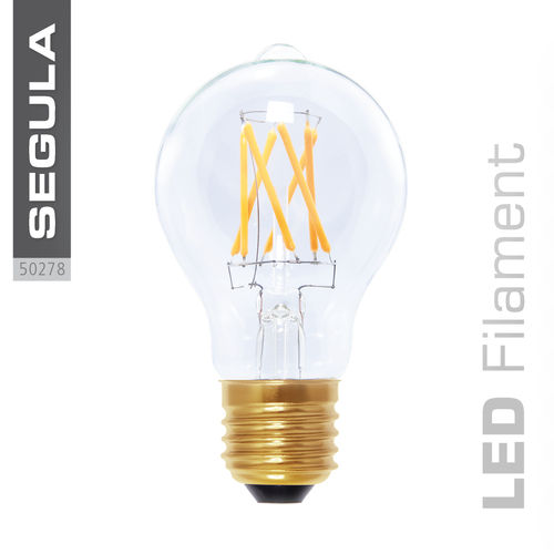 Filament LED Segula 50278 E27 6W (ca. 35W) 400lm 2200K clair dimmable