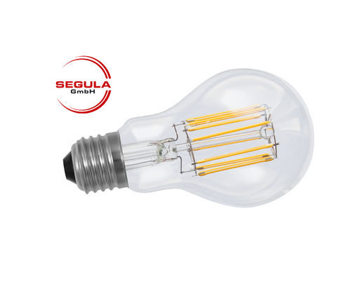 Filament LED Segula 50337 E27 8W (ca. 50W) 600lm 2600K clair dimmable