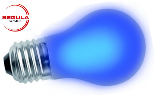 Filament LED bleu Segula 50672 E27 2W 30lm dimmable