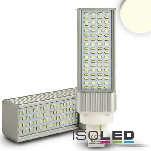 LED Seitenstrahler G24 ISOLED 8W (ca. 60W) 630lm 72LED neutralweiss