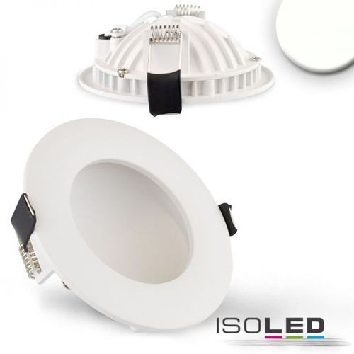 LED Downlight indirekt 105mm weiss ISOLED LUNA 6W (ca. 25W) neutralweiss