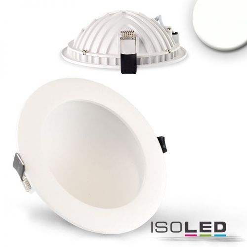 LED Downlight indirekt 150mm weiss ISOLED LUNA 12W (ca. 60W) neutralweiss