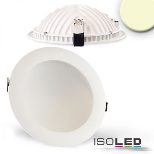 LED Downlight indirekt 173mm weiss ISOLED LUNA 18W (ca. 75W) warmweiss dimm